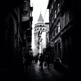 Galata Tower, Istanbul iphone 4S - 2013