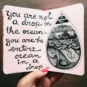 Ocean in a Drop
