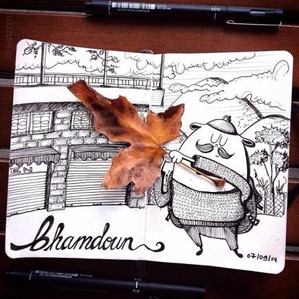 Bhamdoun in Fall